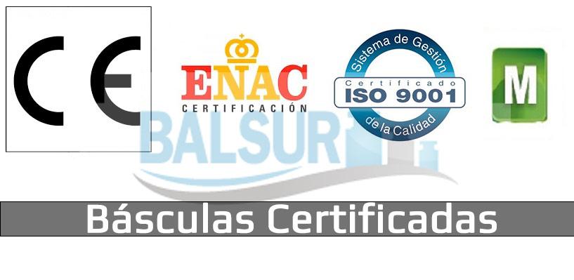 Certificaciones de básculas